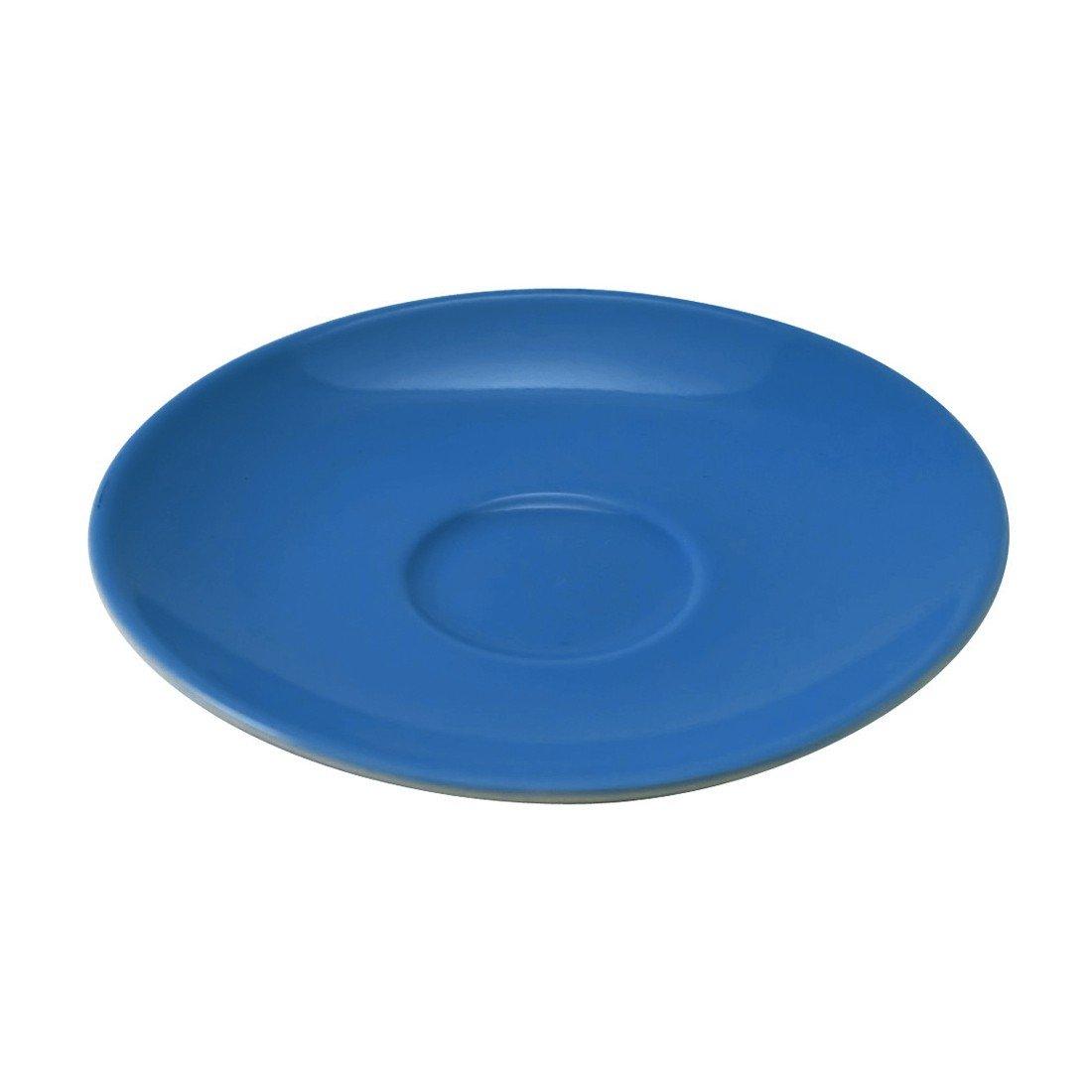/Ø 17 x 2 cm Flirt by R/&B 063820 Jumbo Teller Untere // Untertasse Doppio 6er Pack indigo blau
