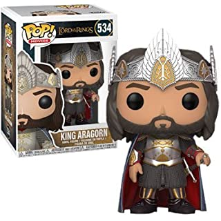 Pop Movies: Lord of The Rings King Aragorn Funko Pop! Exclusive