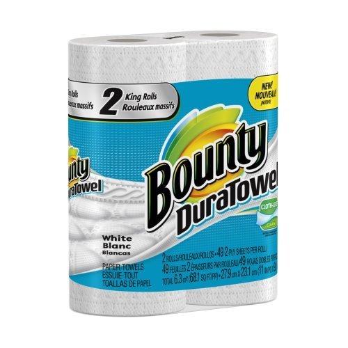 Bounty Duratowel Paper Towels King Rolls 12 Ct by Bounty