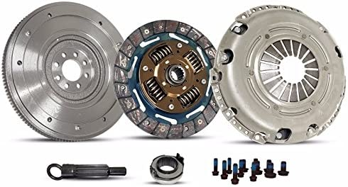 Clutch Kit Solid Flywheel works with Mini Cooper S Checkmate Chilli Hot Chili 2002-2006 1.6L L4 Gas Sohc Supercharged (Fits Supercharged Model 6 Speed Only ...