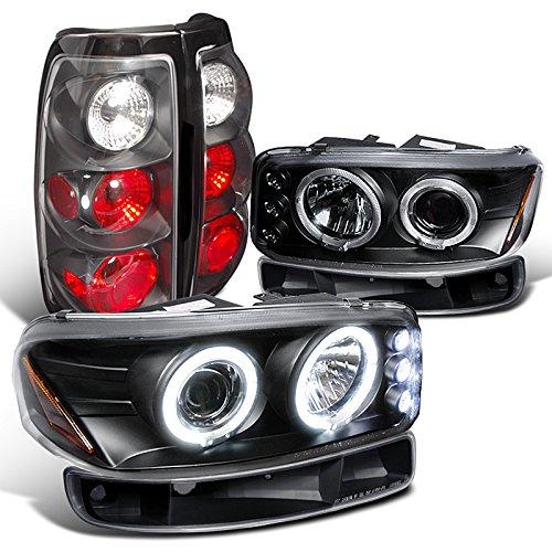 Sierra Projector Headlights Black Lamps