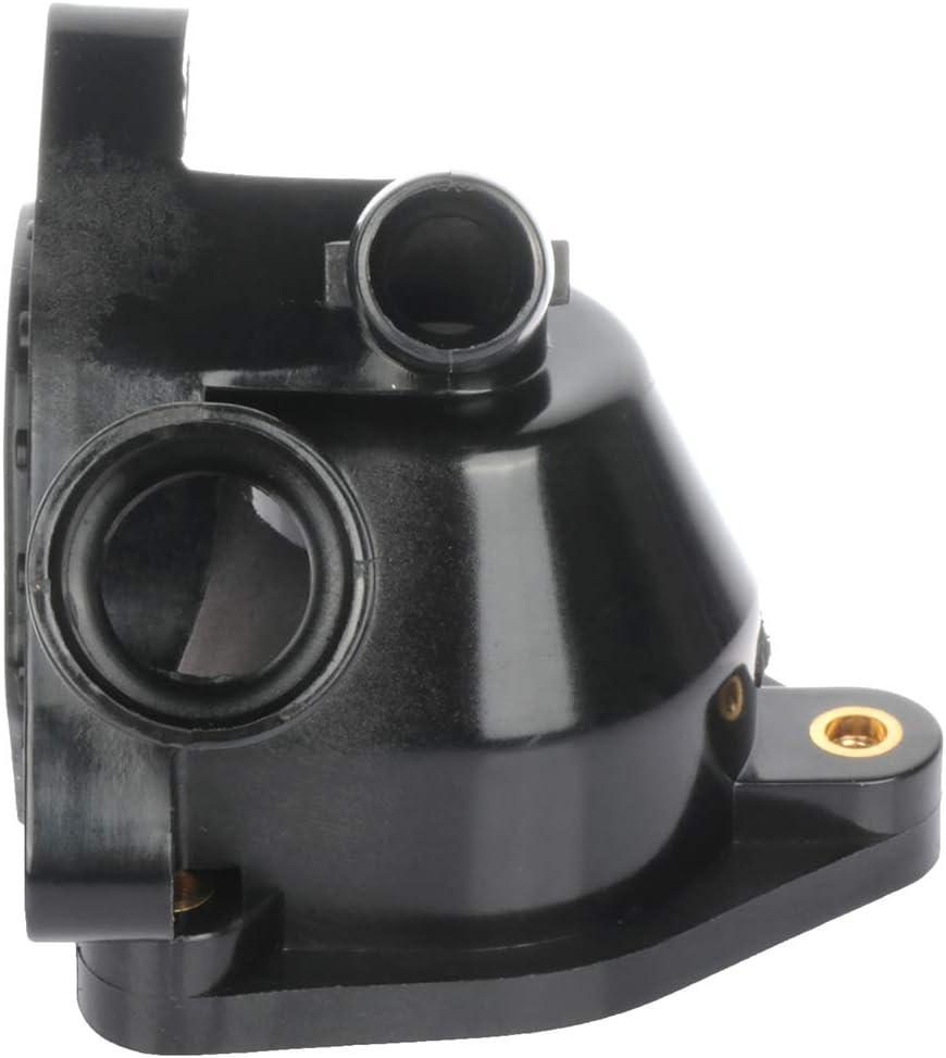 OCPTY Thermostat Housing Assembly Engine Coolant Thermostat Housing Assembly Fit For 2006-2015 Honda Civic,2003-2011 Honda Element 19320-PNA-003