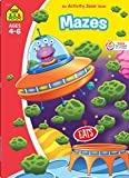 School Zone - Mazes Workbook - 64 Pages, Ages 4 to 6, Patience, Focus, Attention to Detail, Problem-Solving, and More (School Zone Activity Zone Workbook Series)