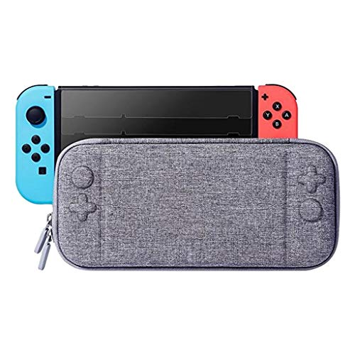 Weite Portable Hard Shell Travel Carrying Case for Nintendo Switch, Large Capacity Protective Pouch Zipper Bag for Nintendo Switch Console Accessories (Unisex Gift Cards)