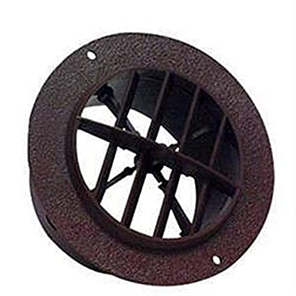 RV Trailer D&W INC  4 Inch Round Ceiling Heating / Cooling Register & Vent  25