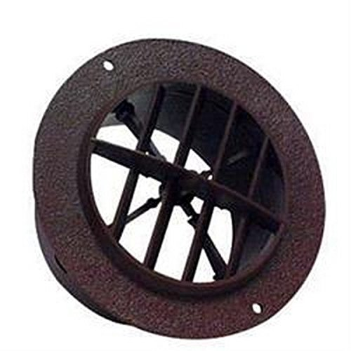 RV Trailer D&W INC. 4 Inch Round Ceiling Heating / Cooling Register & Vent 25
