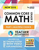 #6: Argo Brothers Math Workbook, Grade 3: Common Core Multiple Choice (3rd Grade) 2017 Edition