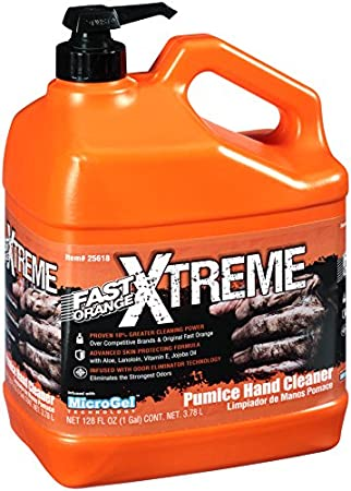 Permatex 25618 Fast Orange Xtreme Hand Cleaner, 1 gallon