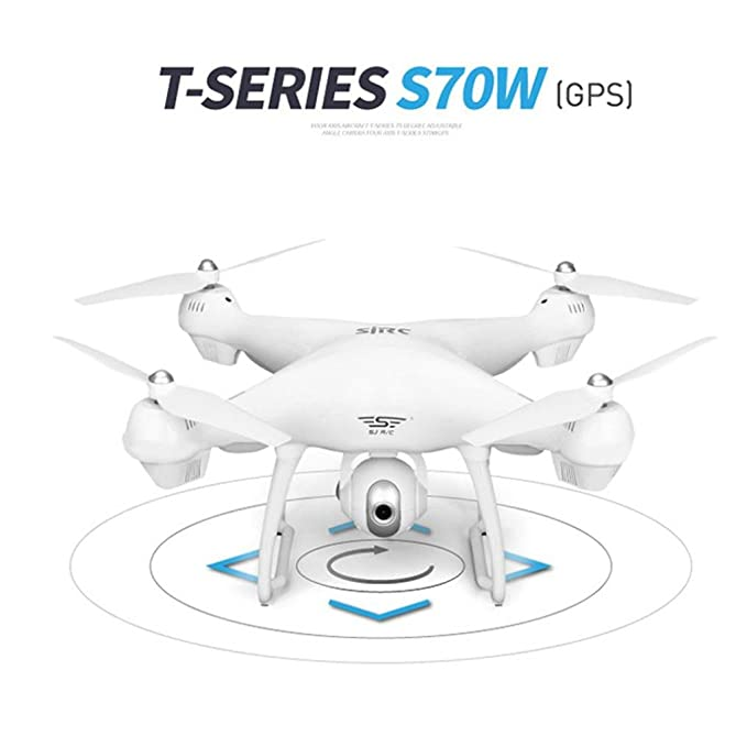 FAMILIZO Fami S70 W 2.4 GHz GPS FPV Drone Quadcopter with 1080P HD ...