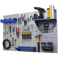 Wall Control 30-WRK-400 GBU Pegboard Organizer 4' Metal...