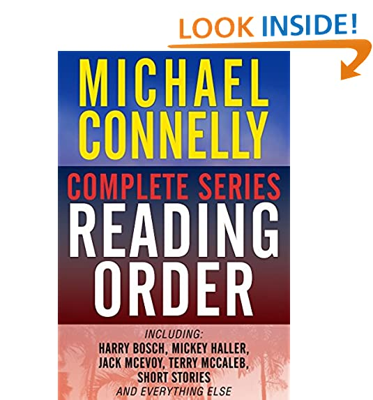 List of Michael Connelly Books in Chronological Order