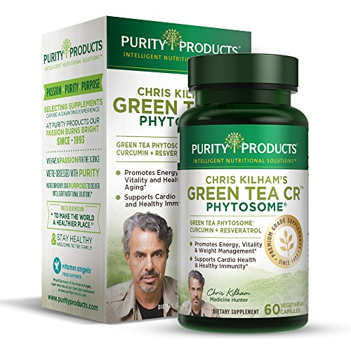 Green Tea CR Brand New - w/Phytosome Healthy Fat Burning Support | As Featured On TV | 30 Day Supply | 60 Vegetarian Capsules from Purity Products