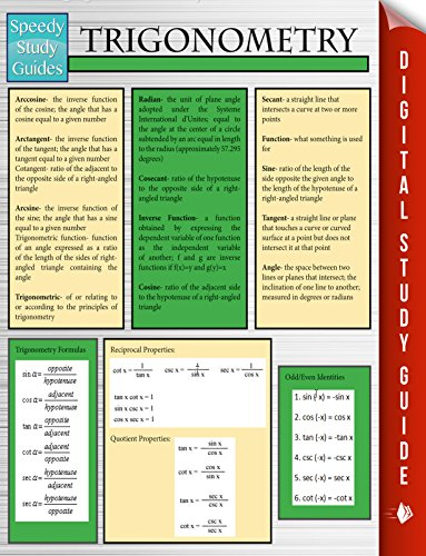 Trigonometry (Speedy Study Guides) por Speedy Publishing