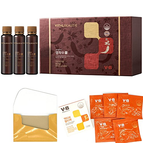 AmorePacific Vital Beautie VB program Yejinseng Ginseng Berry Extract Ampoule 900g (20gX45ea) Korean Ginseng+Gifts by Vital Beautie