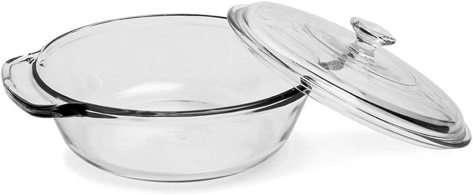 Anchor Hocking 2 quart Glass Casserole Dish, Clear