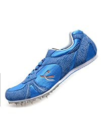 Cool Cushion Running Spike Sport Track Trainning Shoes Flats for Lady&Men