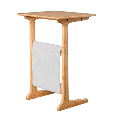 Mesas auxiliares de salón Bamboo Removable Side/Snack/End/Couch ...