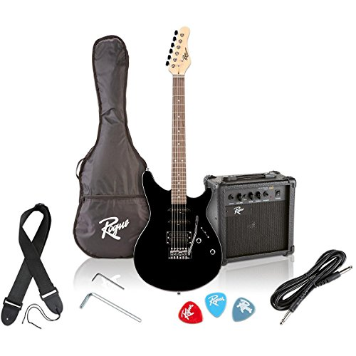 Rogue Rocketeer Electric Guitar Pack Black