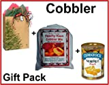 Peach Cobbler Mix, with Fruit and in a Gift Bag