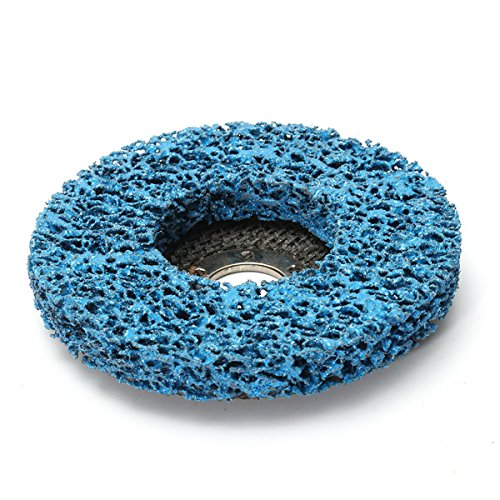 CynKen 5pcs 110mm Polycarbide Abrasive Stripping Disc Wheel Rust And Paint Removal Abrasive Disc by CynKen (Image #4)