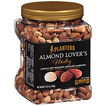 Planters Almond r's Medley Mix, 37 Ounce: Amazon.com: Grocery ... on planters cookies, planters roasted pecans, planters dry roasted honey, planters pistachios, planters granola bars, planters sesame sticks, planters holiday collection, planters energy mix, planters nutrition, planters go packs, planters logo, planters crackers, planters nuts, planters pecan pieces, planters cashews, planters raised bed garden, planters sweet and salty, planters flavors, planters heart healthy, planters sunflower kernels,
