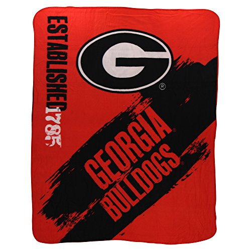 The Northwest Company NCAA Collegiate School Logo Fleece Blanket (Georgia Bulldogs, 50