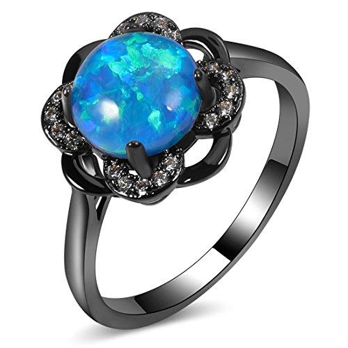 gem stone wedding rings - 8