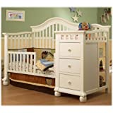 Sorelle Tuscany Mini Siderail Toddler Bed Conversion Kit, Espresso