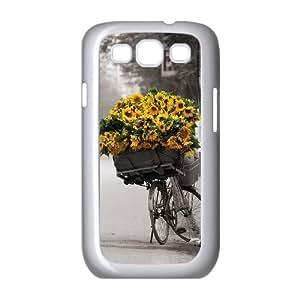 JJZU(R) Design DIY Cover Case with Sunflower for Samsung Galaxy S3 I9300 - JJZU894521