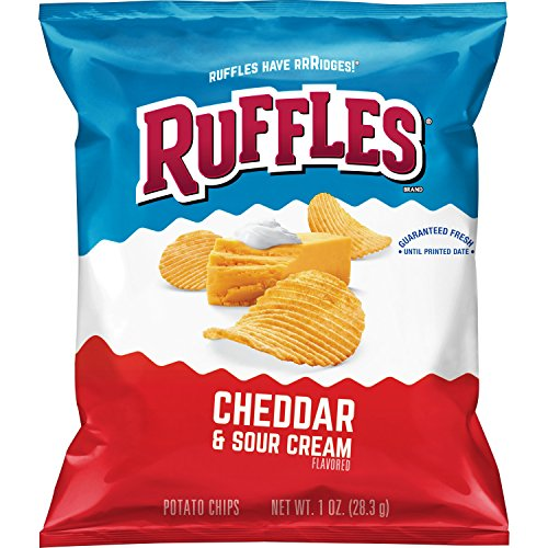 (Ruffles Potato Chips, Cheddar Sour Cream, 1oz (40 Count))