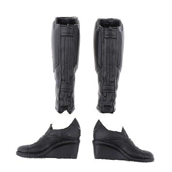 IPOTCH 1: 6 Botas para Mujer de Seguridad Puntera de Zapatos de ...