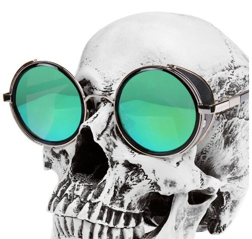 Verde Unisex Adulto de Gafas Sol ZqnBIX