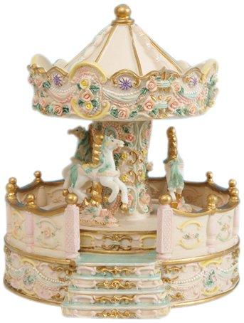 Spieluhrenwelt Music Box World 14148 - Carillon, colore: Beige