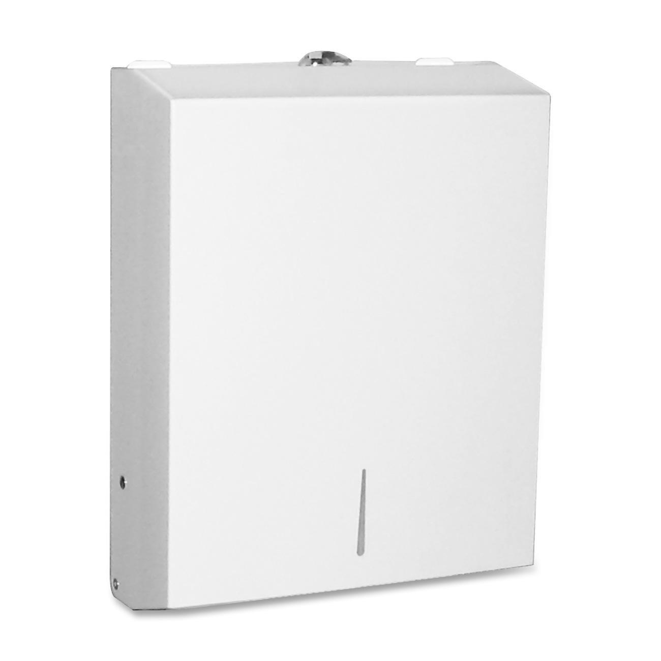 Genuine Joe GJO02197 C-Fold/ Multi Towel Cabinets, Stainless Steel