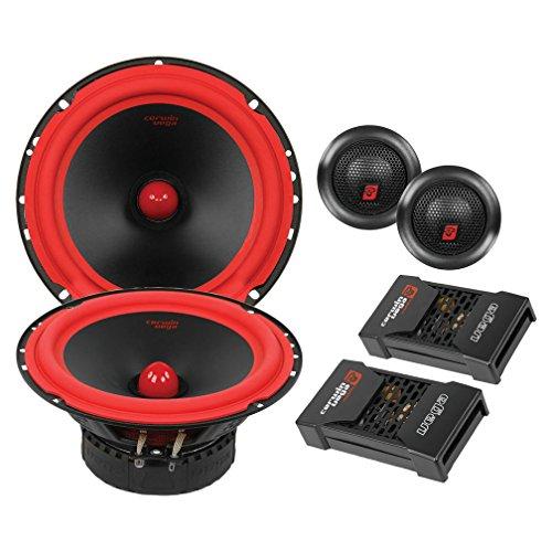 (CERWIN VEGA V465C 6.5-Inch 400 Watts Max/100Watts RMS Power Handling 2-Way Component Speaker Set)