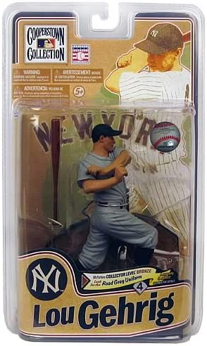 SERIES 8 FIGURE LOU GEHRIG MCFARLANE COOPERSTOWN COLLECTION