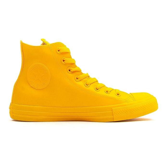 Converse Chuck Taylor All Star High Top Sneakers Damen Herren Unisex Gelb (Senf)