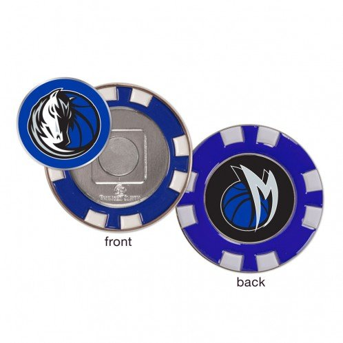 Wincraft Dallas Mavericks NBA Poker Chip Golf Ball Marker