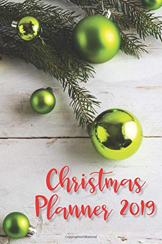Christmas Planner Organizer | Ultimate Christmas Shopping Tracker & Countdown Journal: Organiser Budgets Shopping Lists, Christmas Wish List Gift Card Address Book And Tracker Trendy Christmas Organizer Publisher