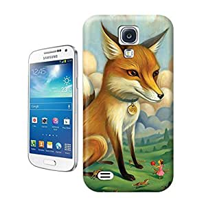 Unique Phone Case Fox Surreal Animal Paintings Hard Cover for samsung galaxy s4 cases-buythecase