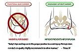 NimNik Baby Sling Carriers Hipseat - Ergonomics Front 2 Back Carrier, Black Bild 8