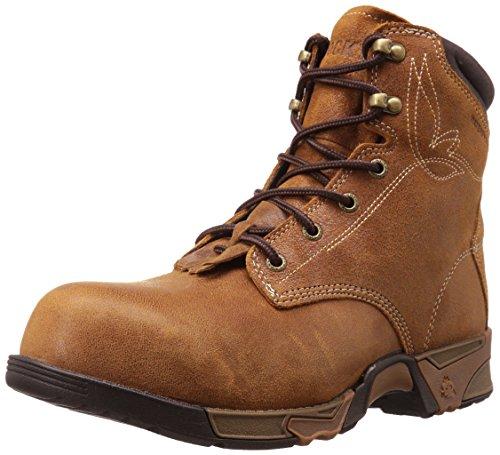 Rocky Women's RKK0223 Construction Boot Brown