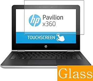Synvy Tempered Glass Screen Protector Compatible with HP Pavilion x360 15-br101ng 15.6 inch Visible Area 9H Protective Screen Film Protectors (Not Full Coverage)