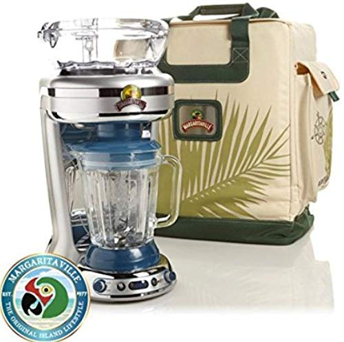 Margarita Drink Mixers - Margaritaville Key West Frozen Concoction Maker with Easy-Pour Jar, Extra-Large Ice Reservoir and Travel Bag