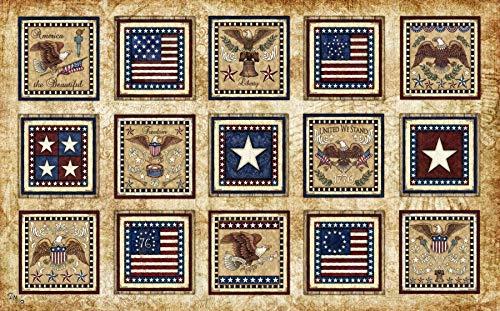 Patriotic Americana Tapestry by Dan Morris, 26