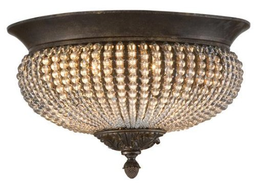 Cristal De Lisbon Collection - Cristal De Lisbon Flush Mount, 9