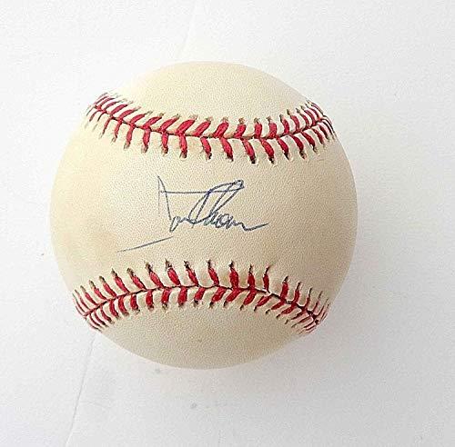 Jim Thome Autographed Signed 1997 Official Major League World Series Baseball W/Jsa Coa ()