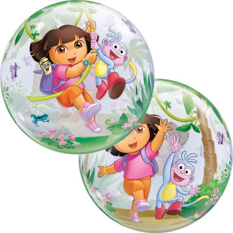 - Dora The Explorer & Boots Qualatex 22