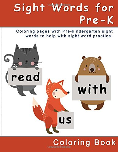 Workbook free phonics worksheets : Amazon.com: Sight Words for Pre-K Coloring Book: Coloring pages ...