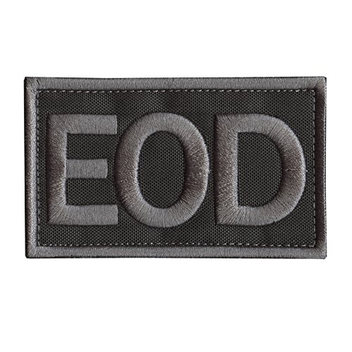 LEGEEON ACU Subdued EOD Explosive Ordnance Disposal Army Tactical Embroidered Hook-and-Loop Patch